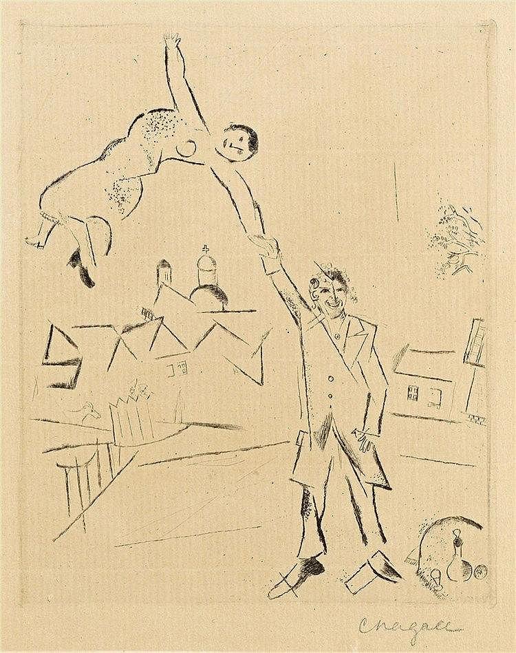 Marc Chagall, Der Spaziergang II, 1922