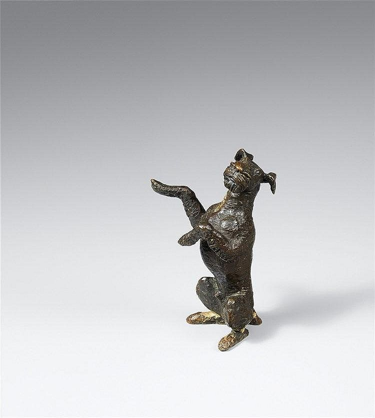 Renée Sintenis, Schönmachender Hund, 1927