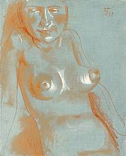 Otto Dix, Weiblicher Halbakt, 1932