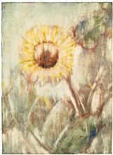 Christian Rohlfs, Sonnenblume, 1934