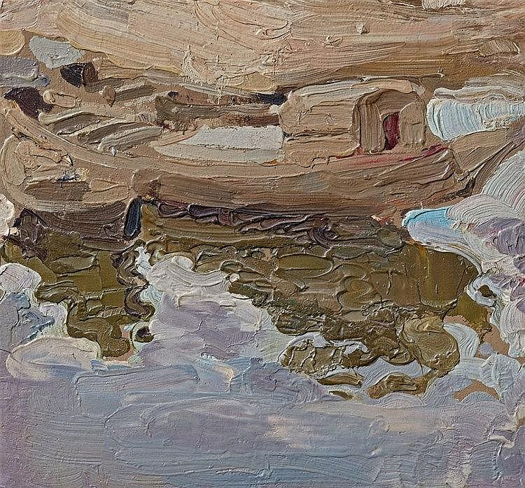 Wladimir Baranoff-Rossiné, Les Barques, Circa 1905