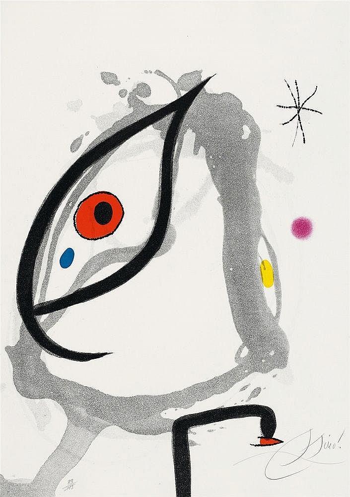 Joan Miró, André Pieyre de Mandiargues. Passage de L'Égyptienne, 1979/1985