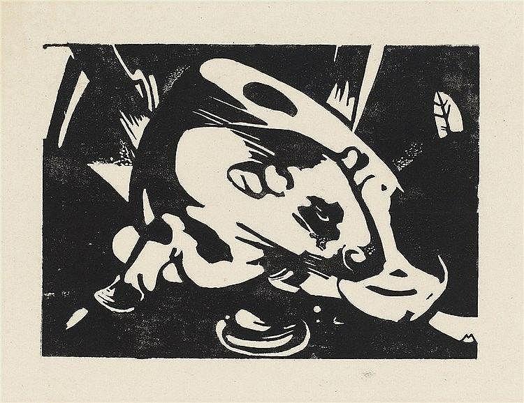 Franz Marc, Der Stier, 1912