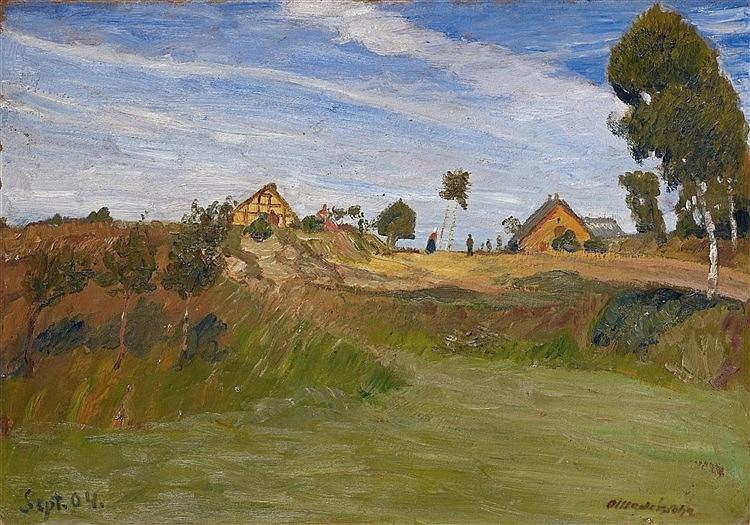 Otto Modersohn, Weg im Moor, 1904
