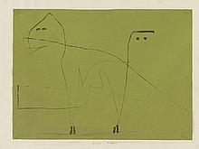 PAUL KLEE, Mesalliance. 1933,16.,  1933