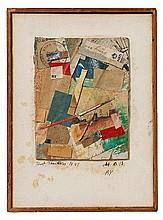 KURT SCHWITTERS, M 2 x 13 By,  1947