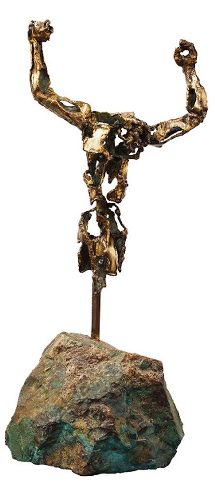 Solomon Saprid (1917 - 2003) Crucifix