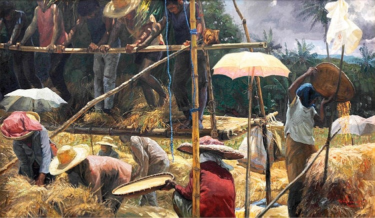 Romulo Galicano (1945) Rice Harvest