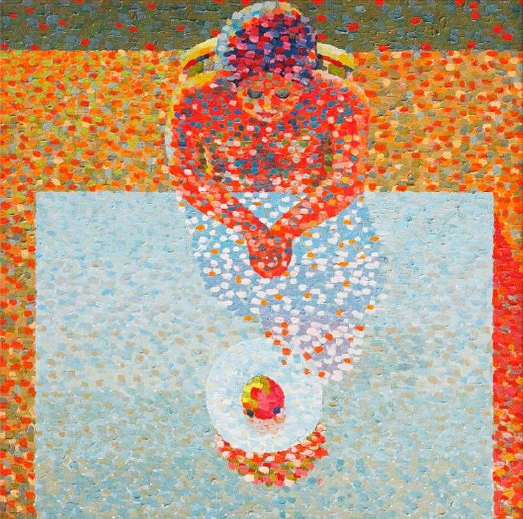 Prudencio Lamarroza (1946) Untitled