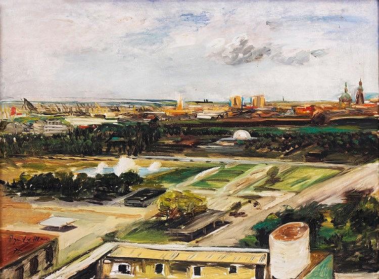Federico Aguilar Alcuaz (1932 - 2011) View of Manila