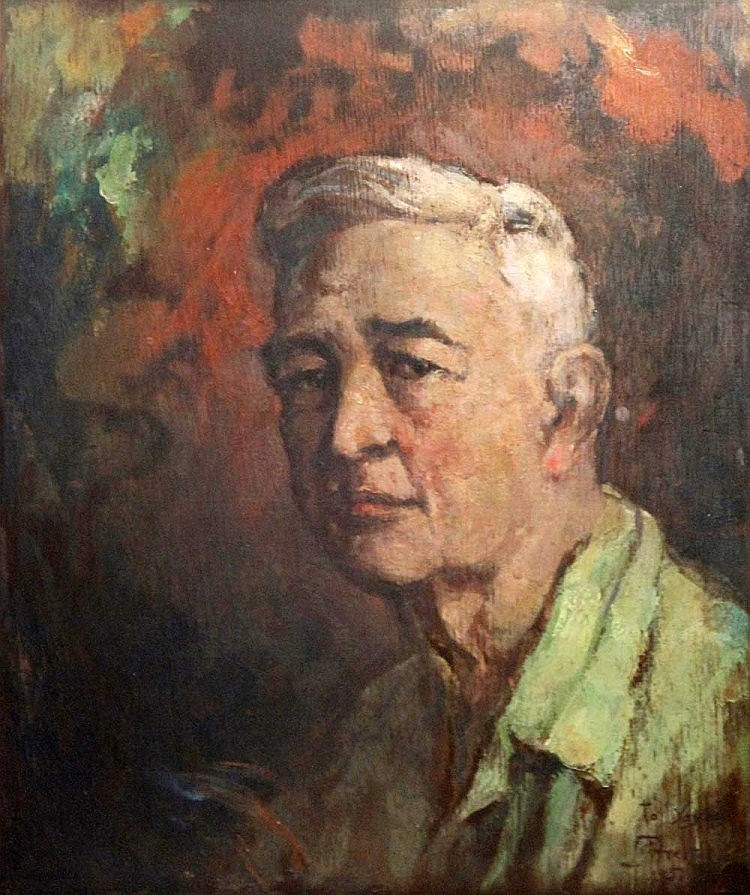 Juan M. Arellano (1888 - 1960) Self-Portrait