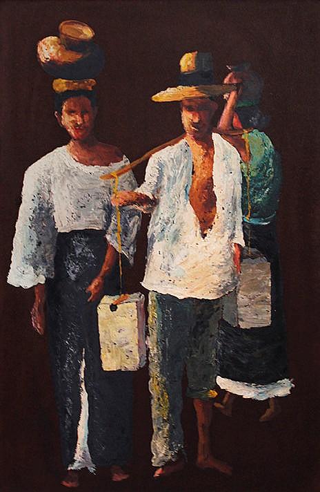 Elias Laxa (1904 - 1990) Vendors