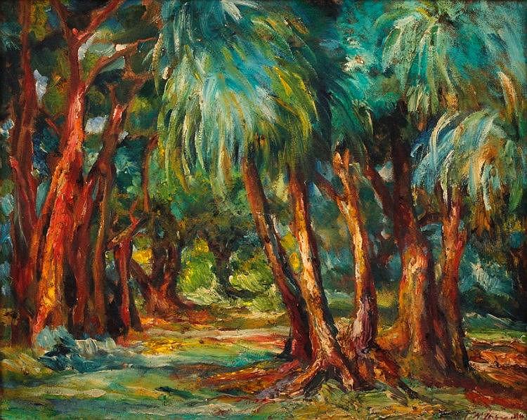 Diosdado Lorenzo (1906 - 1983)  Landscape