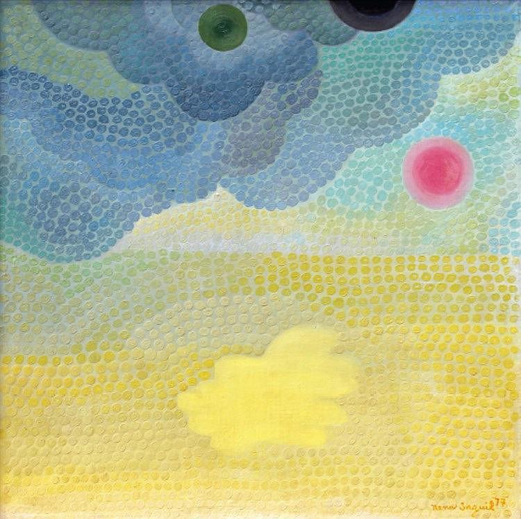 Nena Saguil (1924 - 1994)  Illumination II