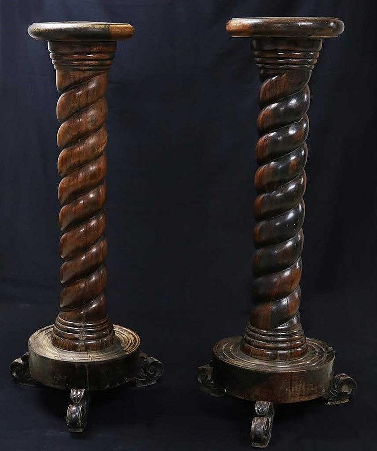 Kamagong Pedestals