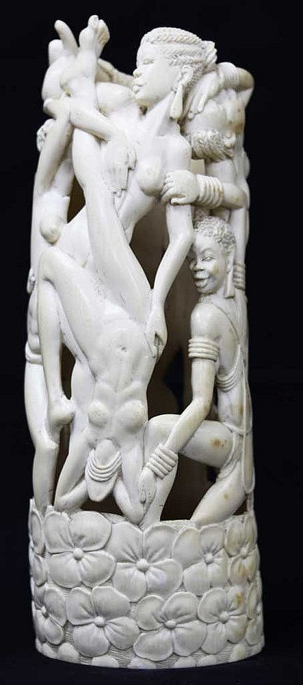 African Ivory Sculpture