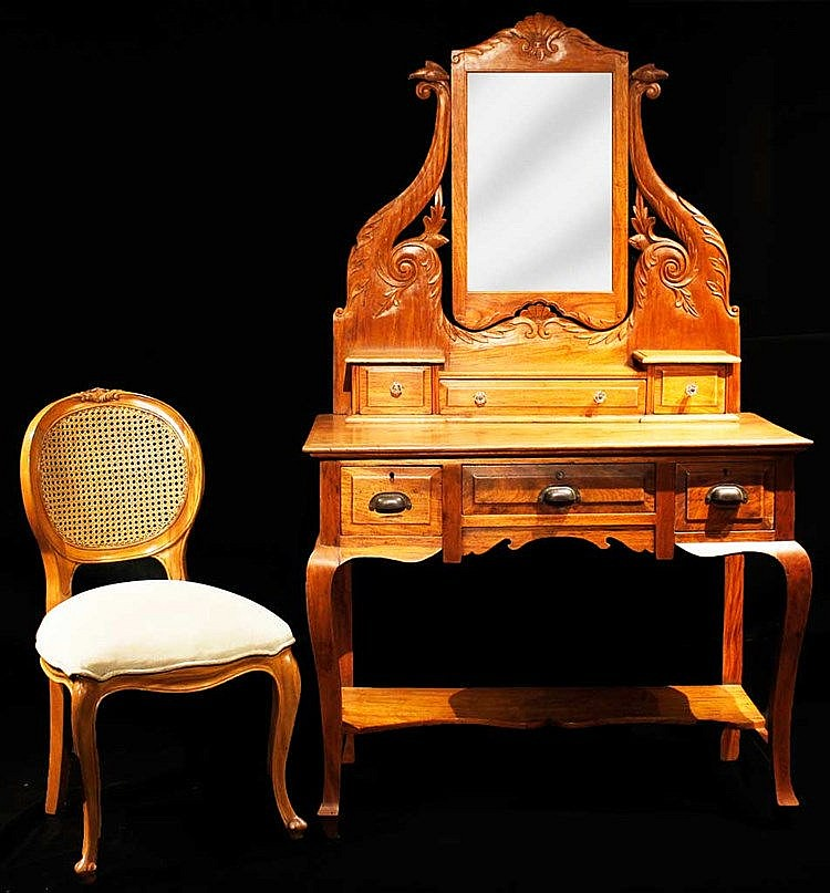 Dresser with Chair