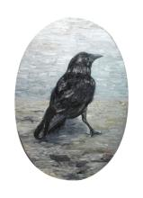 Jonathan Ching (b.1969), A Bird Called Crow , signed and dated 2010 (lower