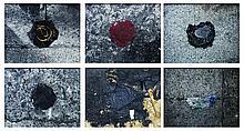 a.) Untitled (Landmark Series) #11, b.) Untitled (Landmark Series) #5, c.) Untitled (Landmark Series) #8, d.) Untitled (Landmark Series) #3, e.) Untitled (Landmark Series) #4, f.) Untitled (Landmark Series) #17