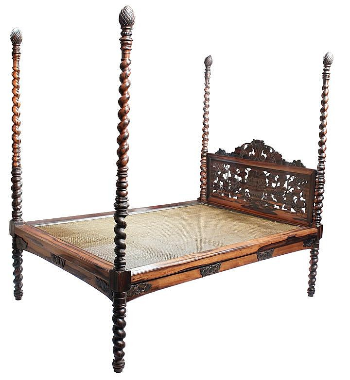 The Gabaldon Four-Poster Bed
