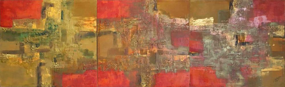 Ivan Acuña (b. 1968) - Abstract (Triptych)