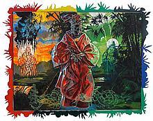 Jose Tence Ruiz (b.1956) /  (frame by Carlo Calma)    Bulakan