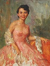 Fernando Amorsolo (1892-1972)    Portrait of a Lady