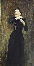 Juan Luna (1857-1899)    Abrochando