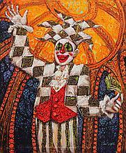 Sherwin Paul Gonzales (b.1973)    The Jester's Portrait