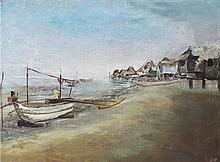 Elias Laxa (1904-1990)    Beachscape