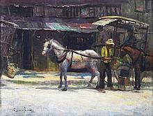 Romulo Galicano (b.1945)    Kalesa