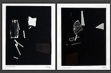 Arturo Luz (b.1926)    a) Night Poem, b) Night Poem