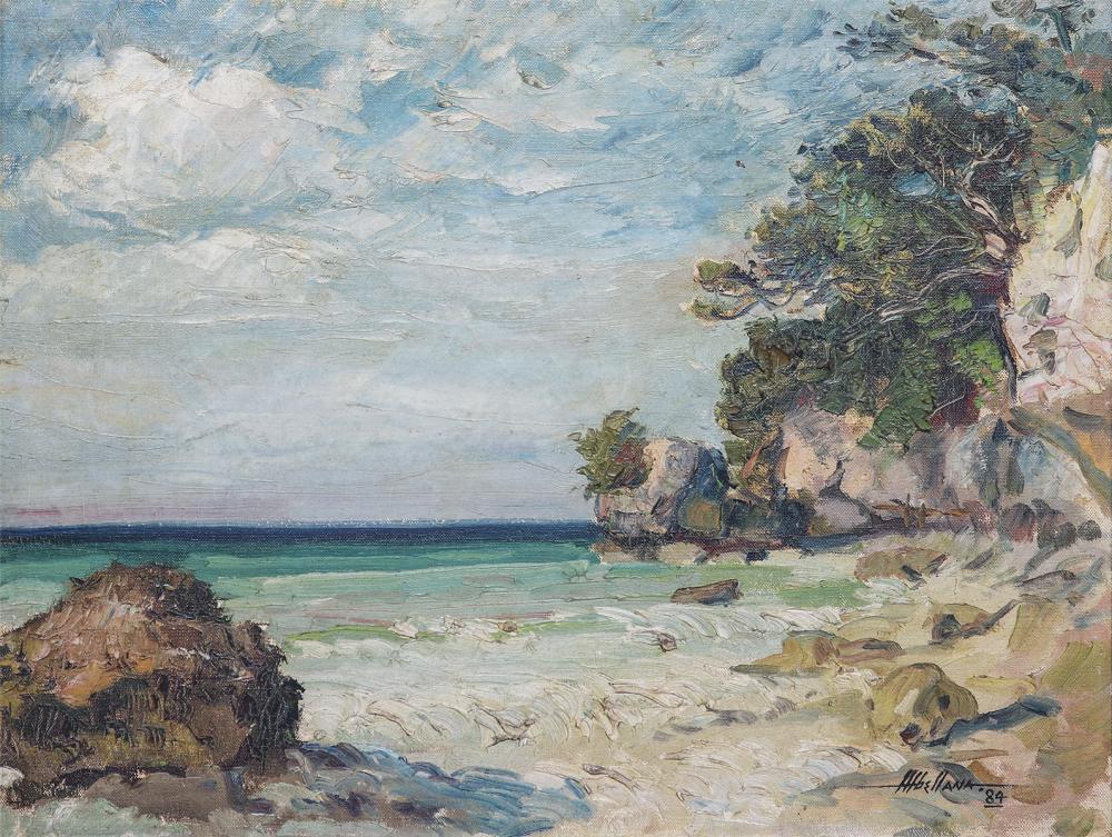 Martino Abellana (1914 - 1988) - Seascape