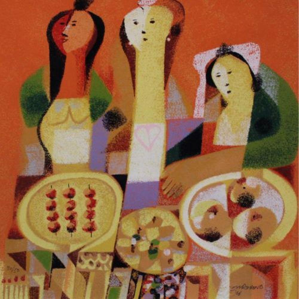 Mauro Malang Santos Artwork For Sale At Online Auction Mauro Malang Santos Biography Info