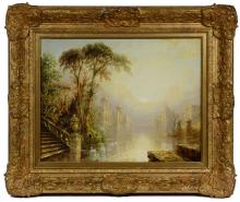 James Salt (English, 1850-1903) Oil on Canvas
