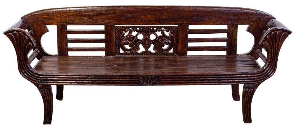 Asian Rosewood Daybed