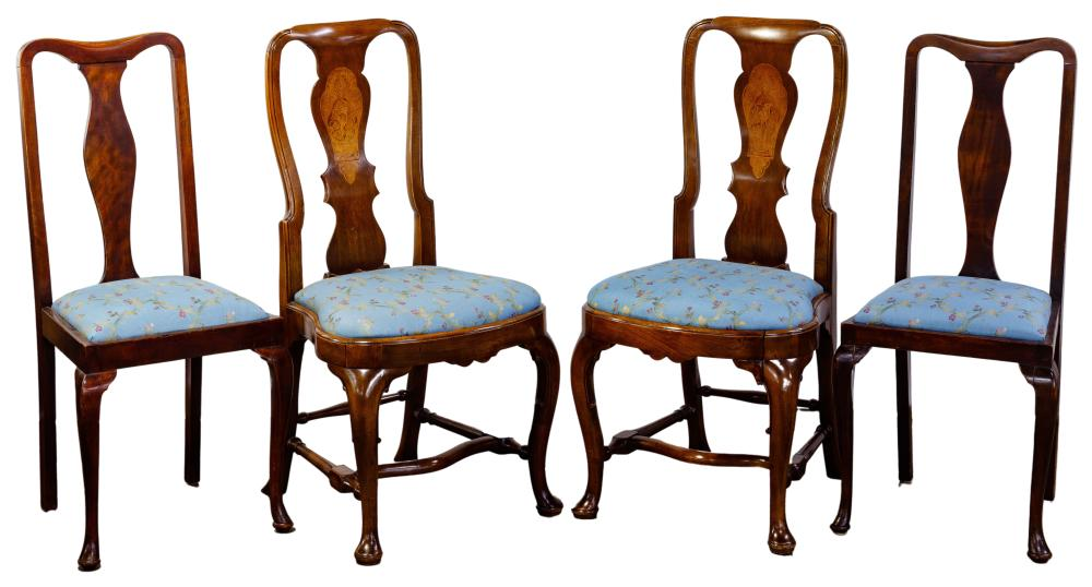 Queen Anne Style Dining Chair Assortment