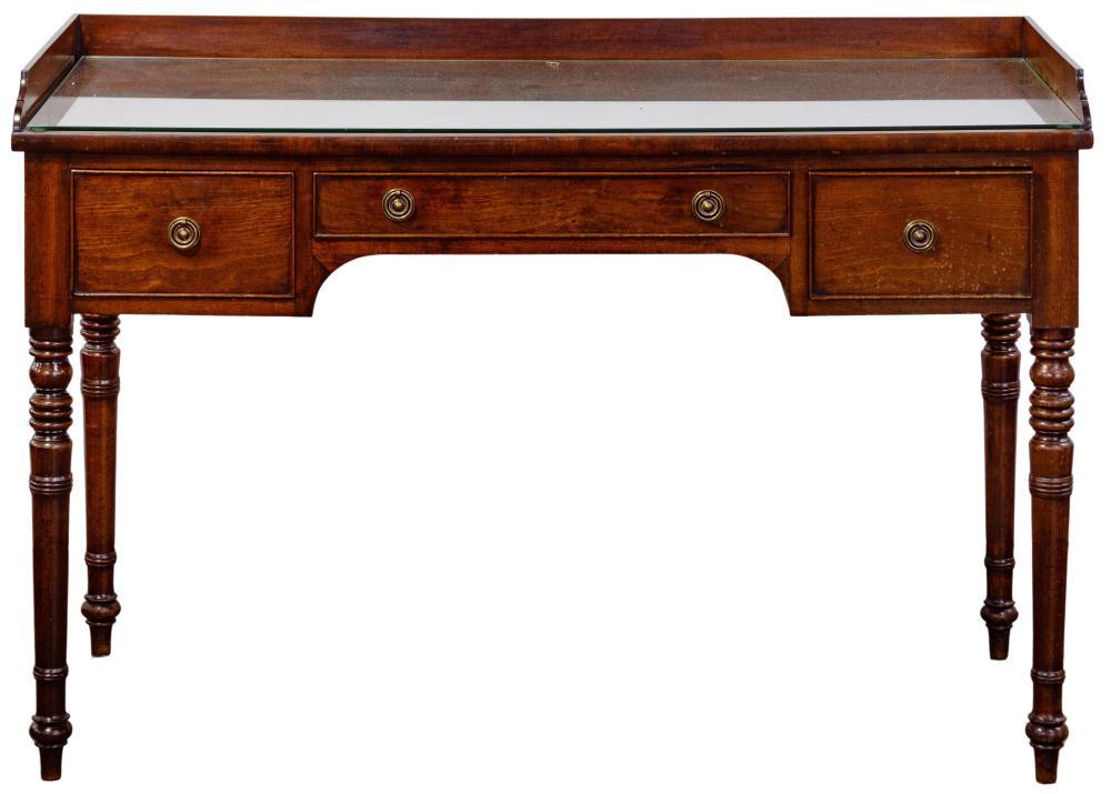 Federal Style Mahogany Writing Desk