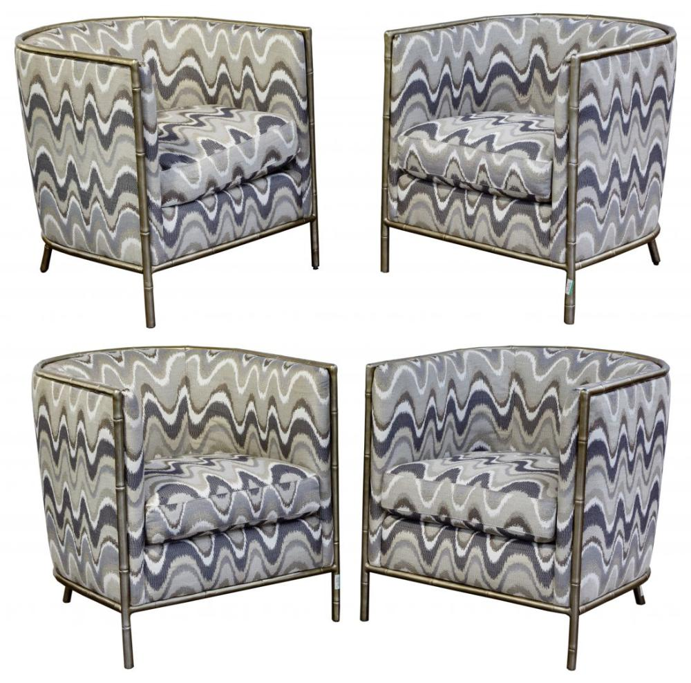 Bernhardt Upholstered Club Chairs