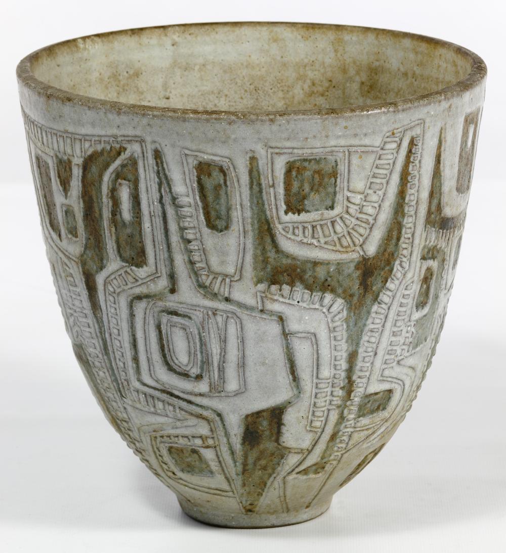 Clyde Burt (American, 1922-1981) Pottery Bowl