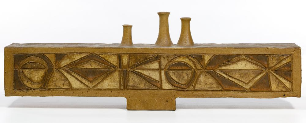 Clyde Burt (American, 1922-1981) Pottery Object