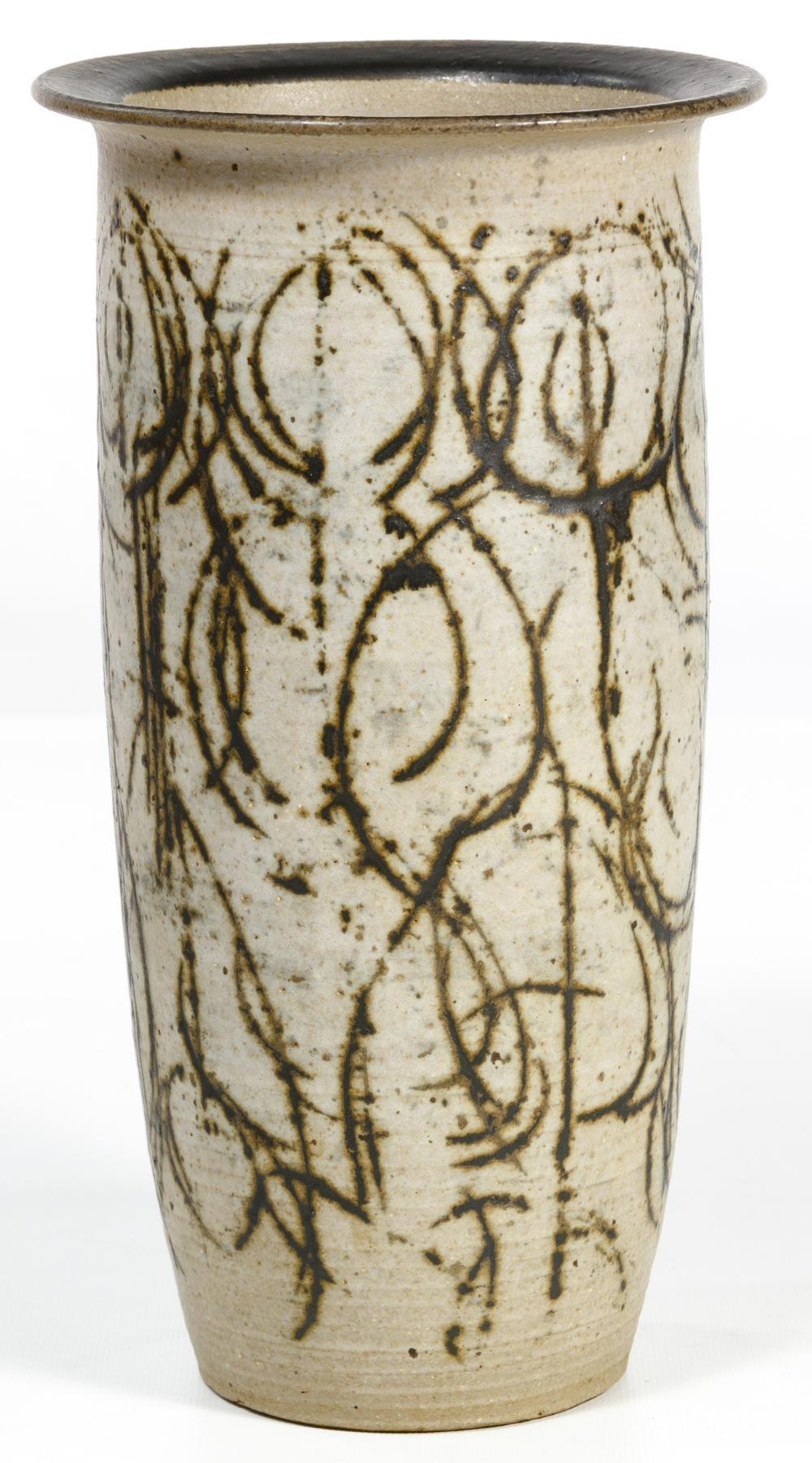 Clyde Burt (American, 1922-1981) Pottery Vase