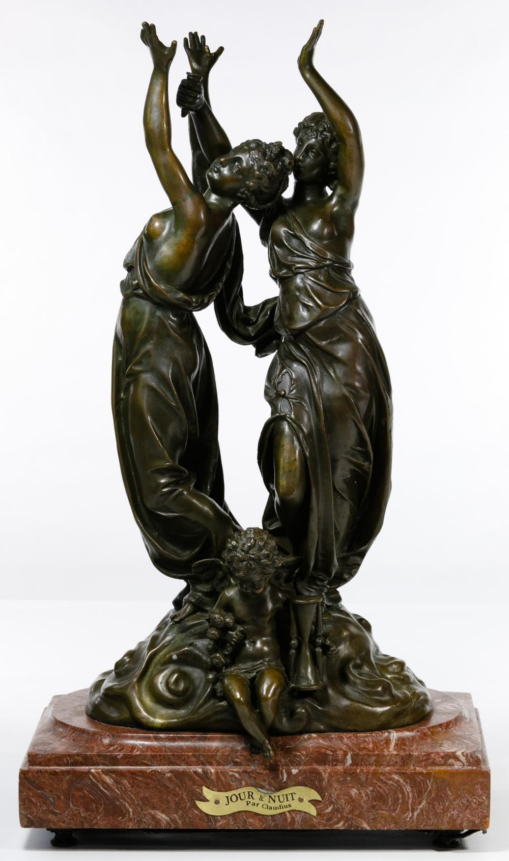 (After) August Moreau (French, 19th Century) Bronze Statue