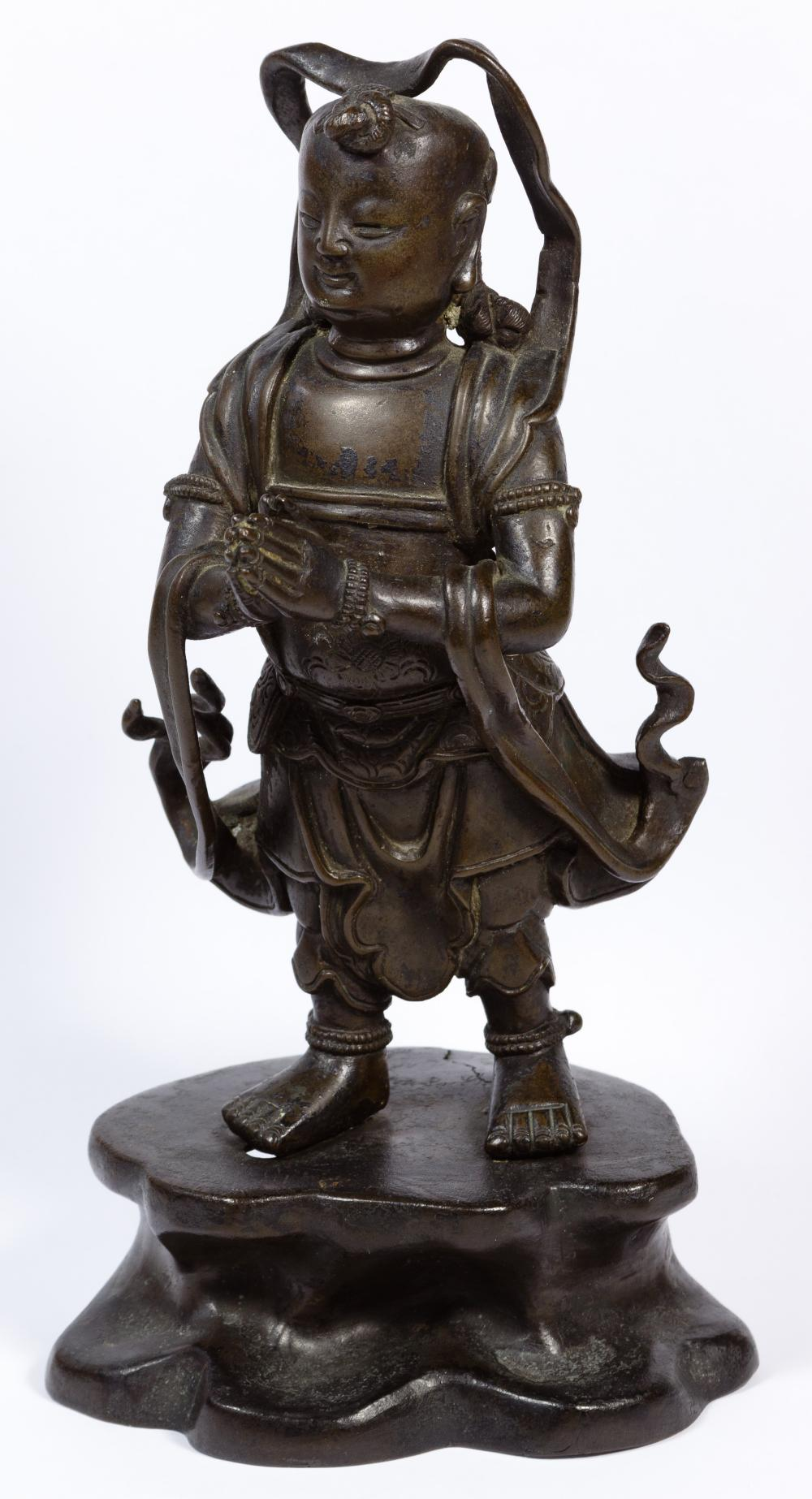 Chinese Ming Dynasty Style Bronze Figure