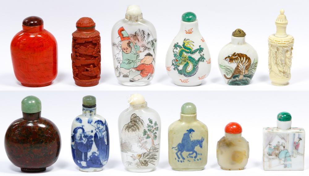 Snuff Bottle Assortment