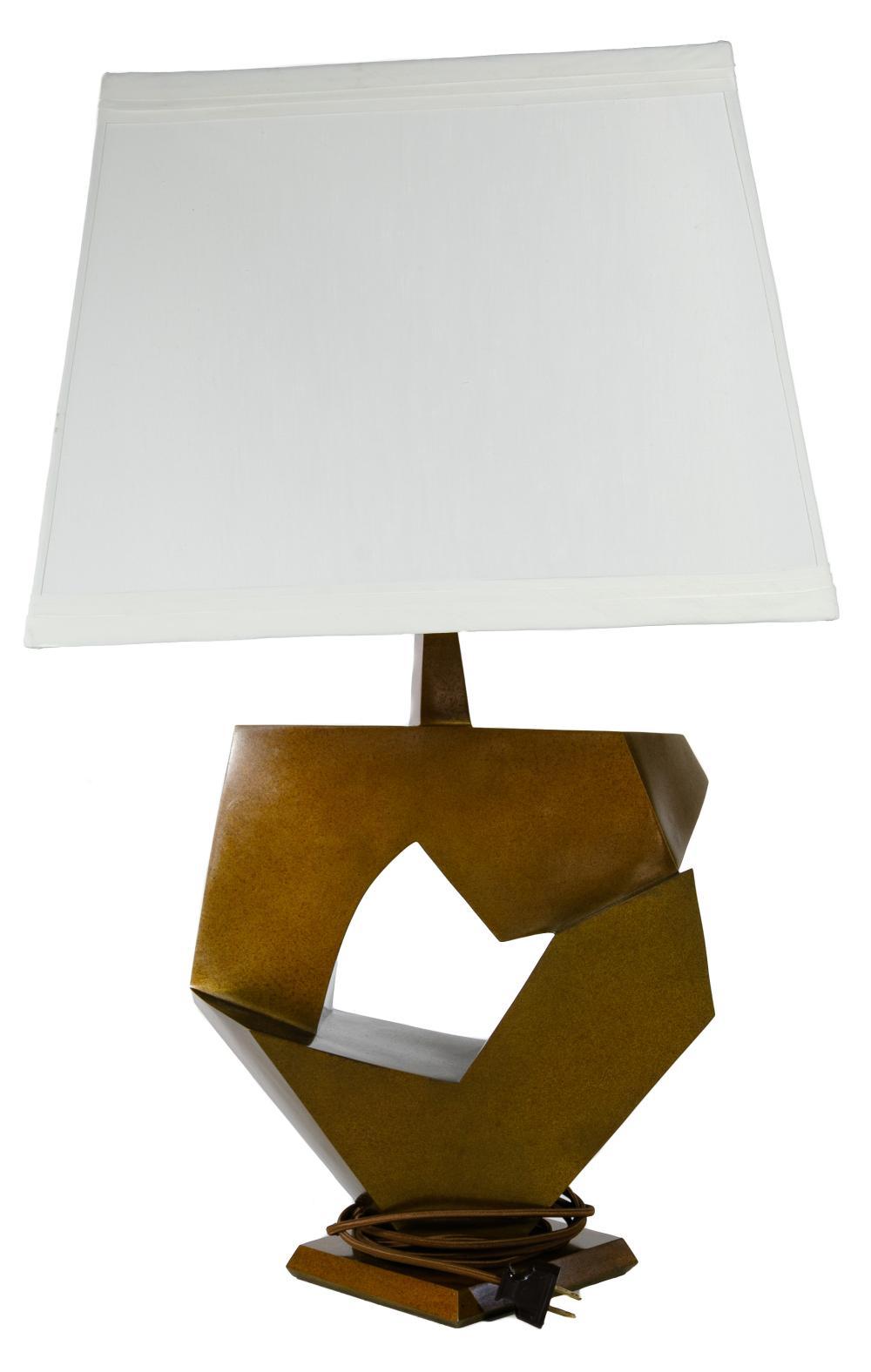Stanton (20th Century) Bronze Table Lamp