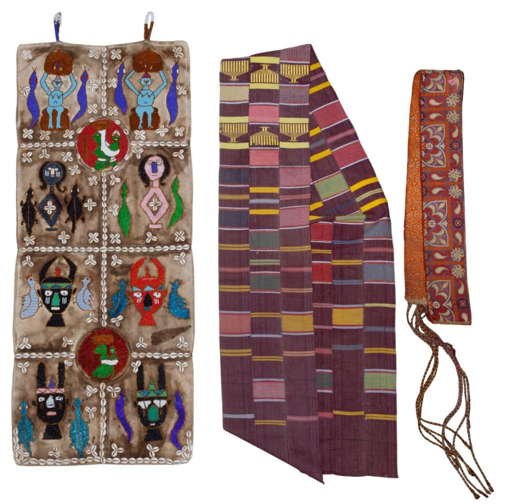 Wall Hanging and Textile Assortment