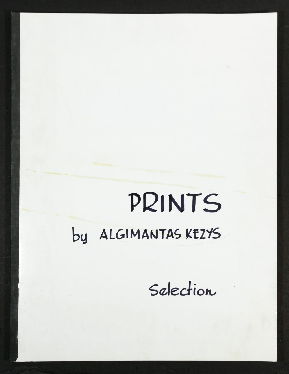 (After) Algimantas Kezys (Lithuanian / American, 1928-2015) Portfolio of Prints