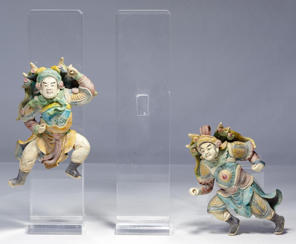 Asian Figural Roof Tiles