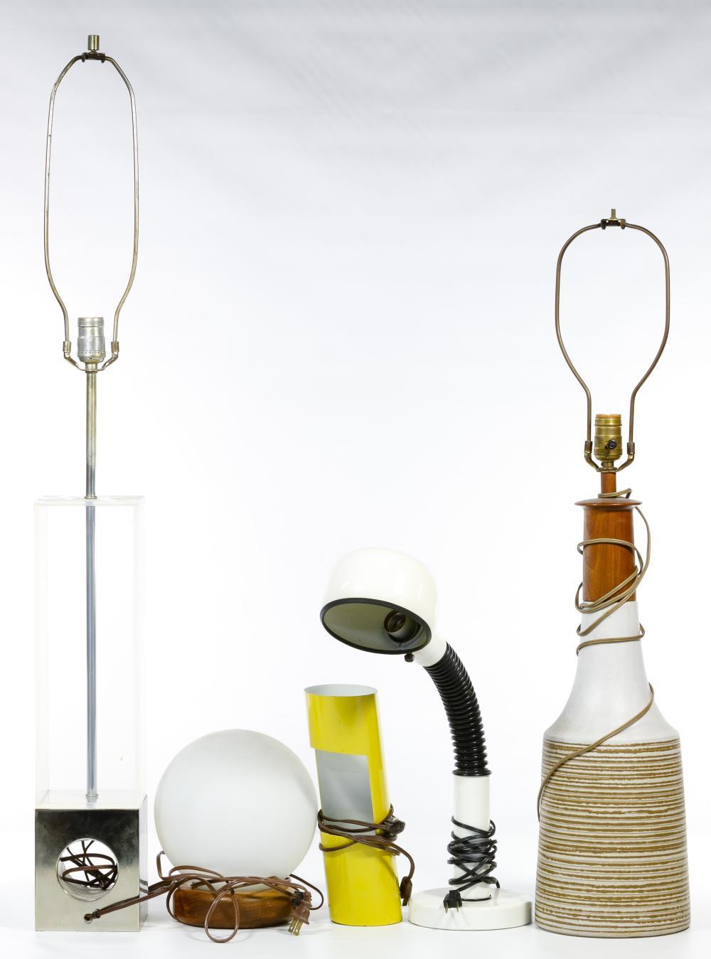 Modern Table Lamp Assortment